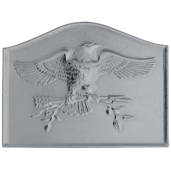 American Eagle Cast Iron Fireback image number 0