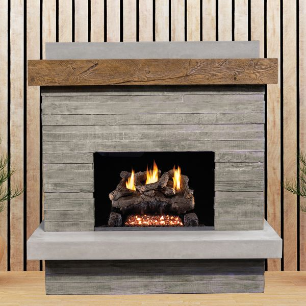 American Fyre Designs Brooklyn Outdoor Fireplace image number 0