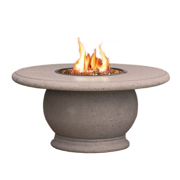 Amphora Gas Fire Pit Table with Concrete Top image number 1