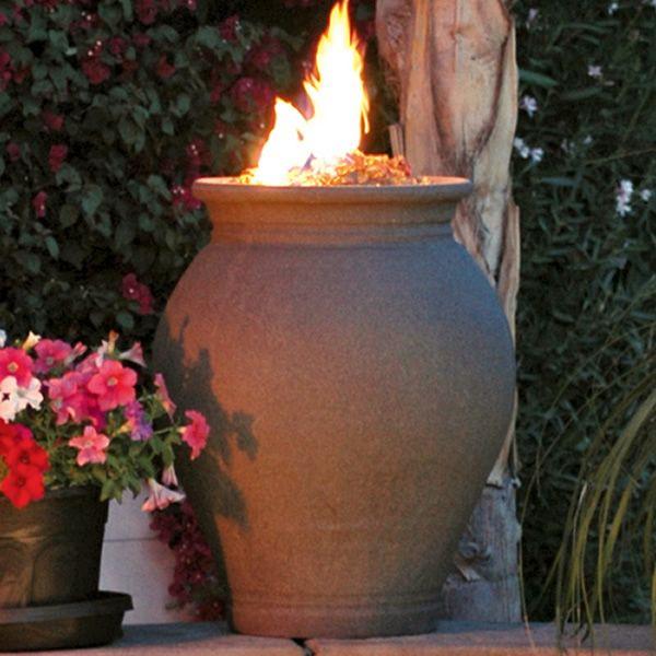 Amphora Gas Fire Pit Urn image number 0