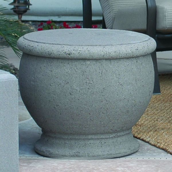 Amphora Propane Tank Enclosure/End Table image number 0