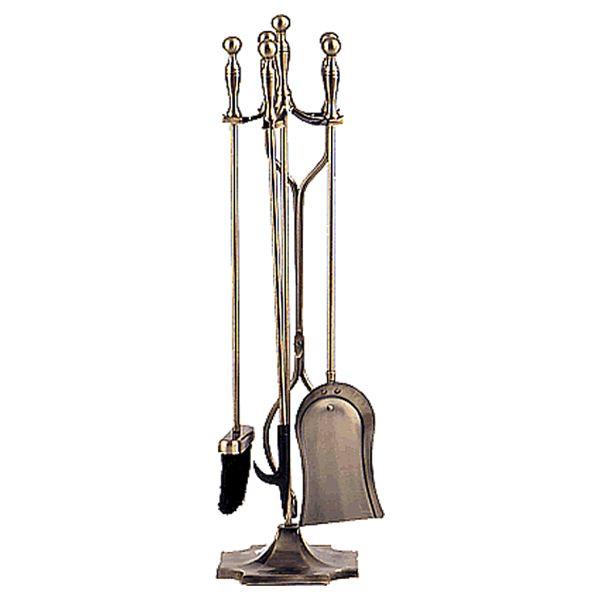 Antique 4 Piece Tool Set - Brass image number 0