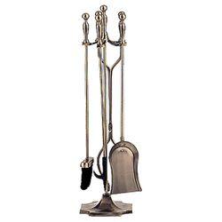 Antique Brass 4 Piece Tool Set
