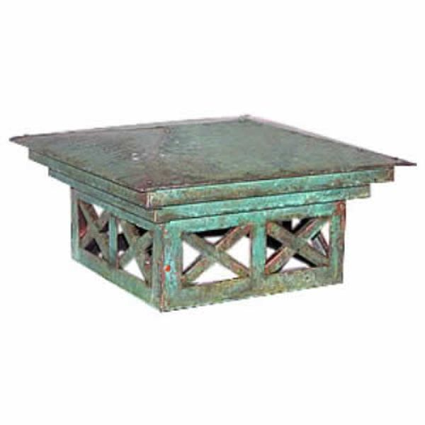 Antiqued European Custom Chimney Shroud (19) image number 0