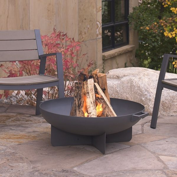 Anson Wood Burning Fire Bowl - Gray image number 0
