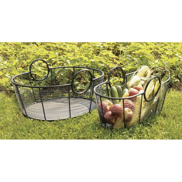 "Minuteman Steel Wire Firewood Basket - 12"" image number 1"