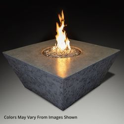 Athena Olympus Square Gas Fire Pit Table