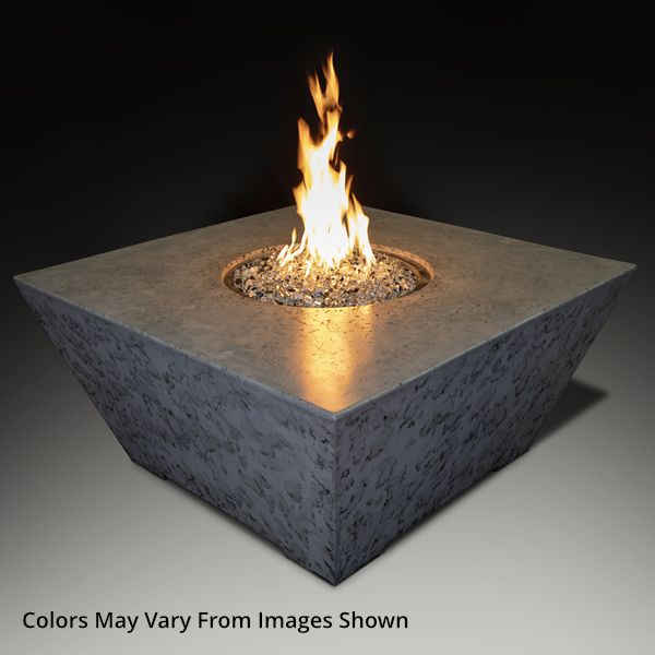 Athena Olympus Square Gas Fire Pit Table image number 0
