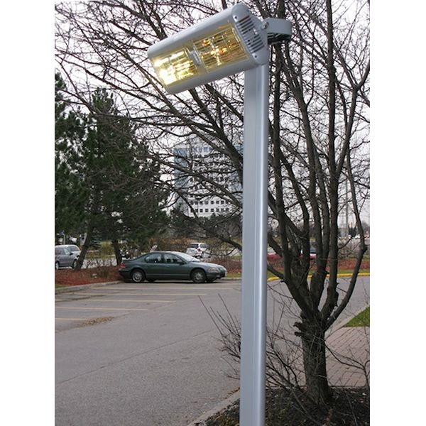 "Solaira Aluminum Post for Alpha Patio Heater - 7' 11"" image number 0"