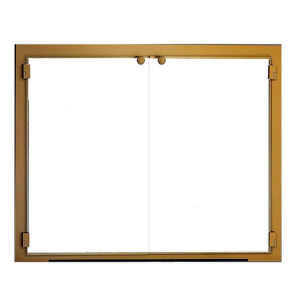 All Glass ZC Fireplace Glass Door image number 0