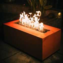 Alpine Linear Gas Fire Pit