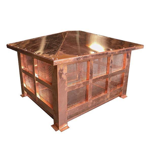 Artisan Wright Chimney Shroud - Copper image number 0