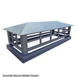Artisan Wright Chimney Shroud - Galvanized Steel
