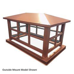 Artisan Wright Chimney Shroud - Kynar Steel