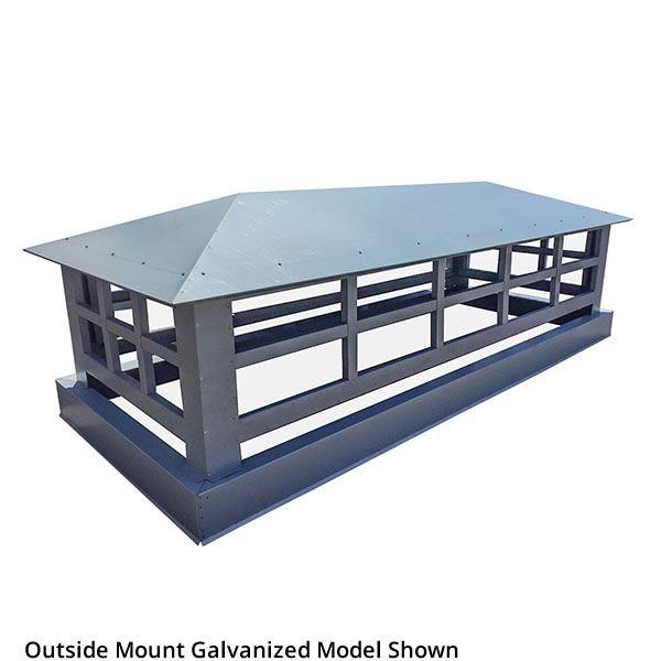 Artisan Wright Chimney Shroud - Stainless Steel image number 0