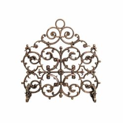 Arched Classic Cast Iron Fireplace Screen