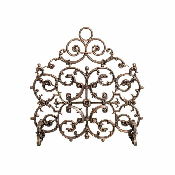 Arched Classic Cast Iron Fireplace Screen image number 0