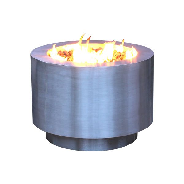 Arco Fia Stainless Steel Gas Fire Pit image number 0