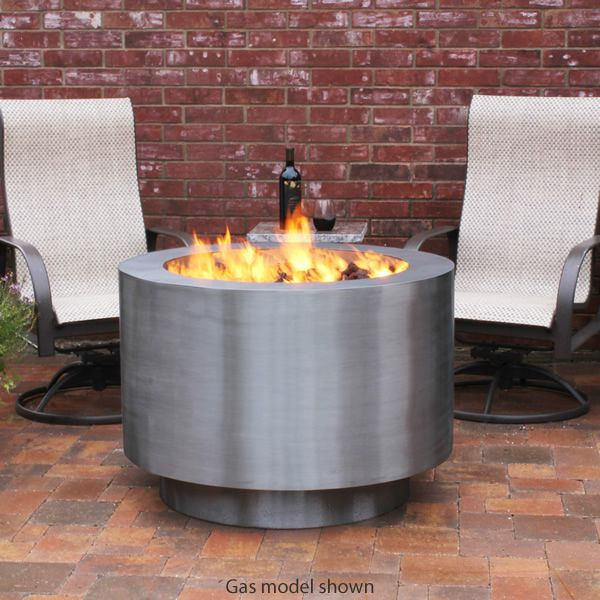 Arco Fia Stainless Steel Wood Burning Fire Pit image number 1