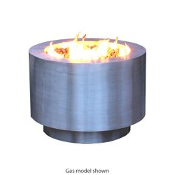 Arco Fia Stainless Steel Wood Burning Fire Pit