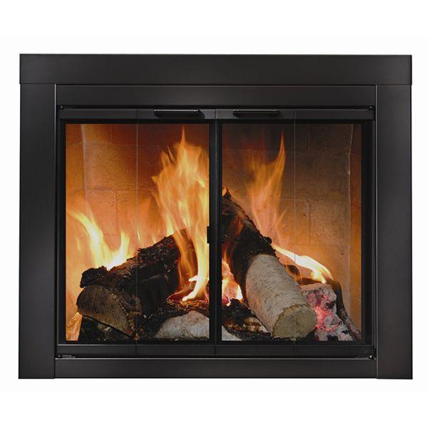 Ardmore Black Fireplace Door image number 0