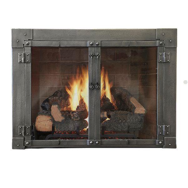 Armada ZC Fireplace Glass Door image number 0