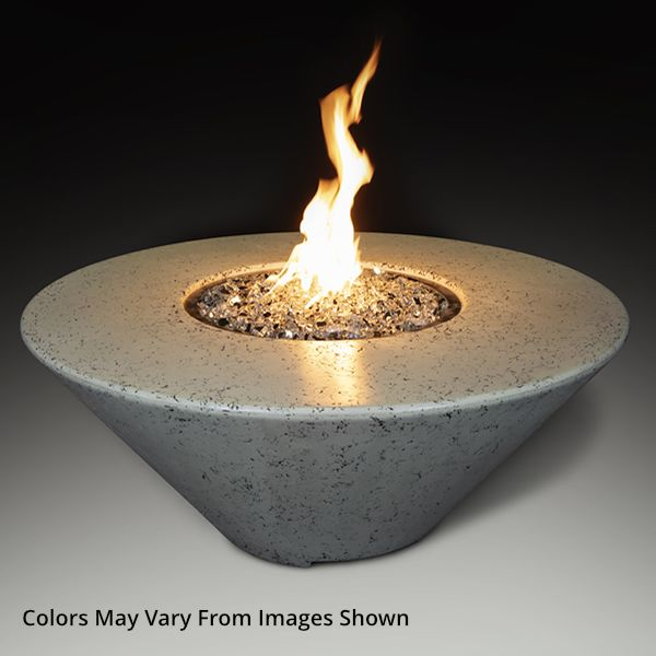 Athena Olympus Round Gas Fire Pit Table image number 0