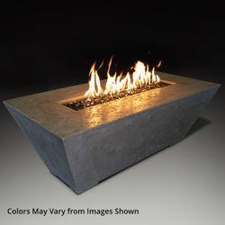 Athena Olympus Rectangle Gas Fire Pit Table