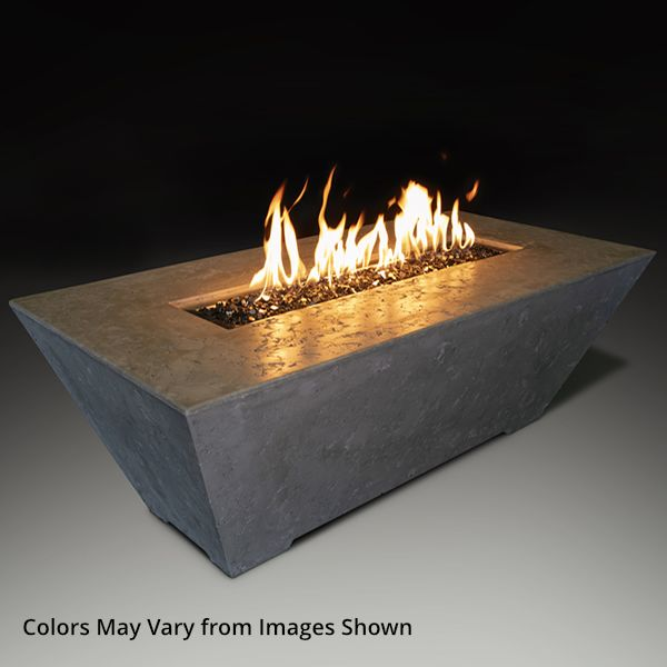 Athena Olympus Rectangle Gas Fire Pit Table image number 0