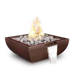 Avalon Copper Fire & Water Bowl