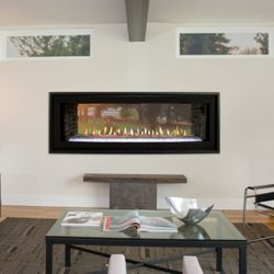 """Boulevard See Through Direct Vent Fireplace - 48"""""""