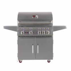 Bonfire Premium 4 Double Door Cart Gas Grill - 34""
