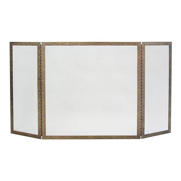 "Bay Branch Three Panel Fireplace Screen - 50"" x 30"" image number 0"