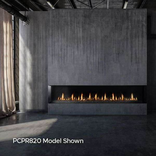 Montigo Prodigy Panorama Direct Vent Gas Fireplace image number 1