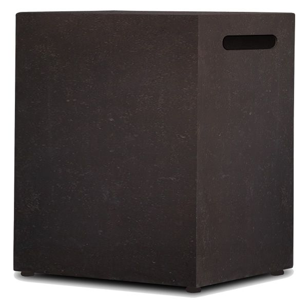Baltic 20lb LP Tank Enclosure - Kodiak Brown image number 0
