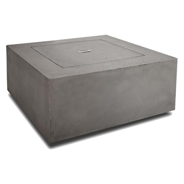 Baltic Square Fire Table - Glacier Gray - LP image number 4