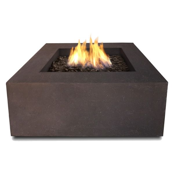 Baltic Square Fire Table - Kodiak Brown - LP image number 2