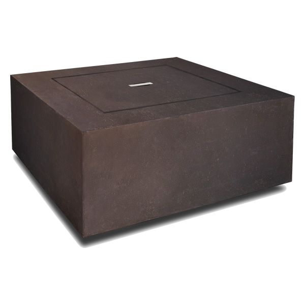 Baltic Square Fire Table - Kodiak Brown - LP image number 4