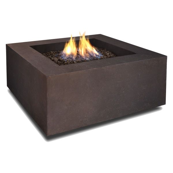Baltic Square Fire Table - Kodiak Brown - LP image number 0
