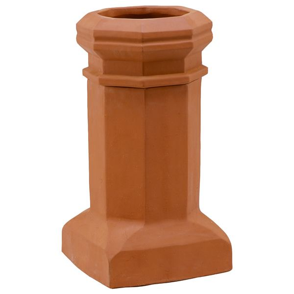 Sandkuhl Bantam Style E Jumbo Clay Chimney Pot image number 0
