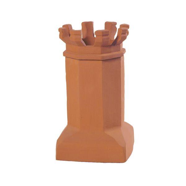 Sandkuhl Bantam Style E Jumbo Crown Clay Chimney Pot image number 0