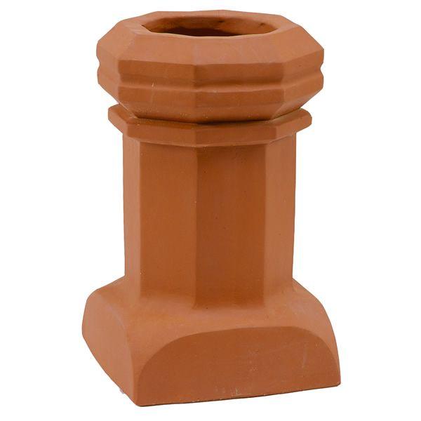 Sandkuhl Bantam Style E Short Clay Chimney Pot image number 0