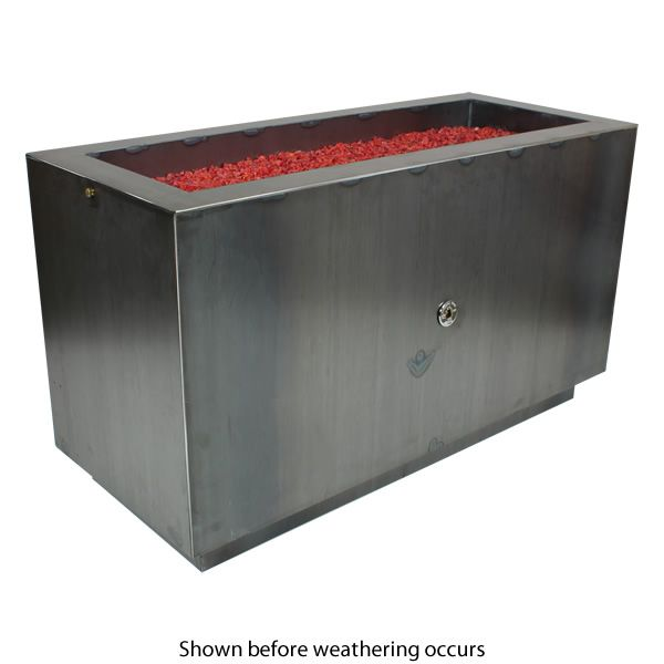 Basa Fia Steel Gas Fire Pit image number 1