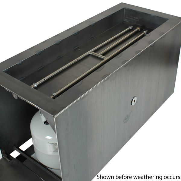 Basa Fia Steel Gas Fire Pit image number 4