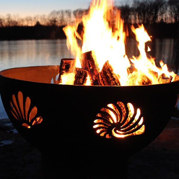 Beachcomber Wood Burning Fire Pit image number 0
