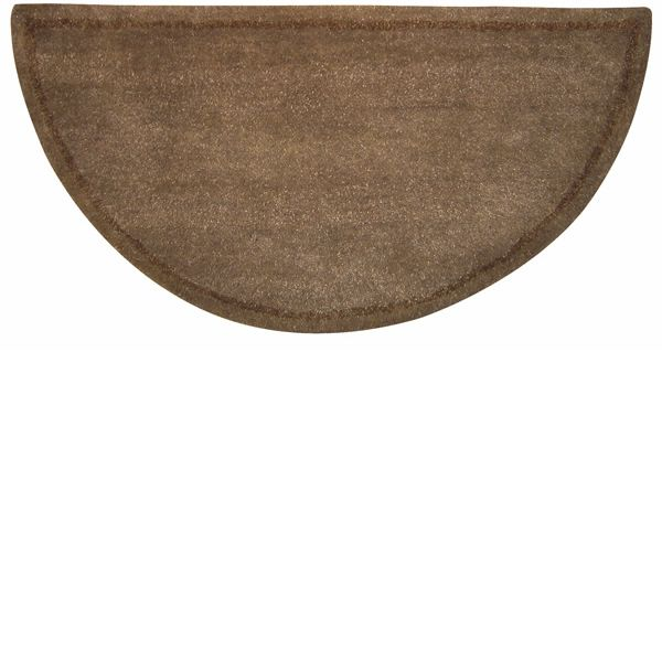 Beige Hand Tufted Hearth Rug image number 0