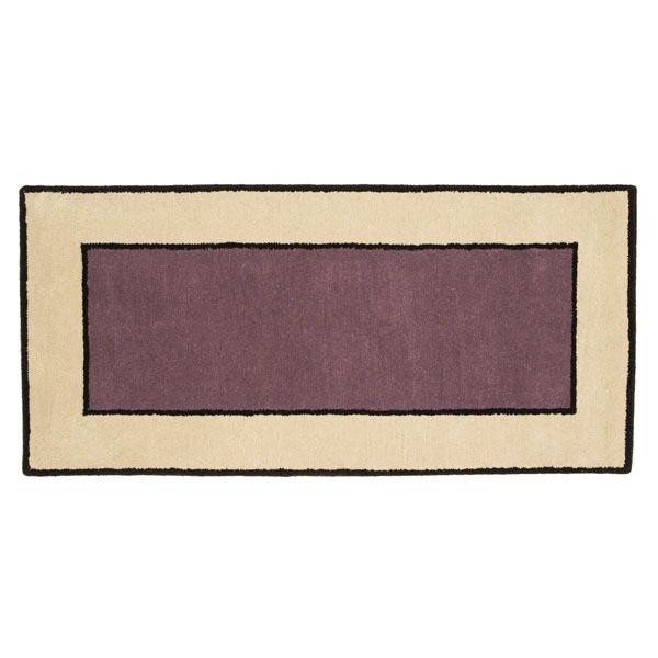 "Contemporary II Dusk Rectangular Rug - 56""x26"" image number 0"