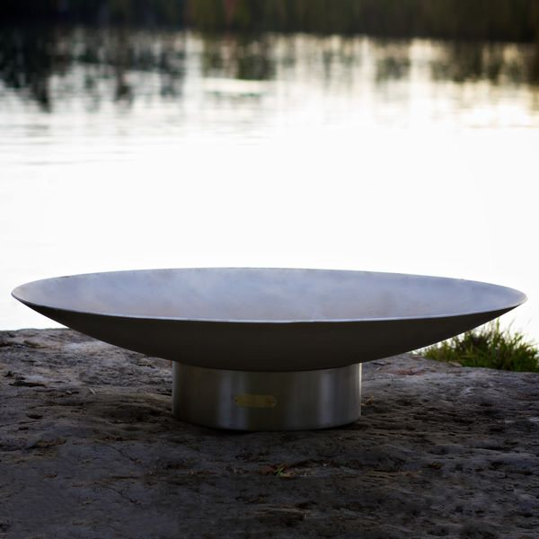 Bella Vita Stainless Steel Gas Fire Pit image number 1