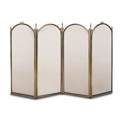 "Belvedere Four Panel Fireplace Screen - 44"" x 26 1/4"""