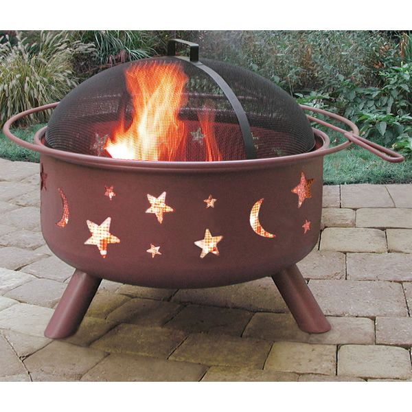 Big Sky Night Sky Fire Pit - Georgia Clay image number 0